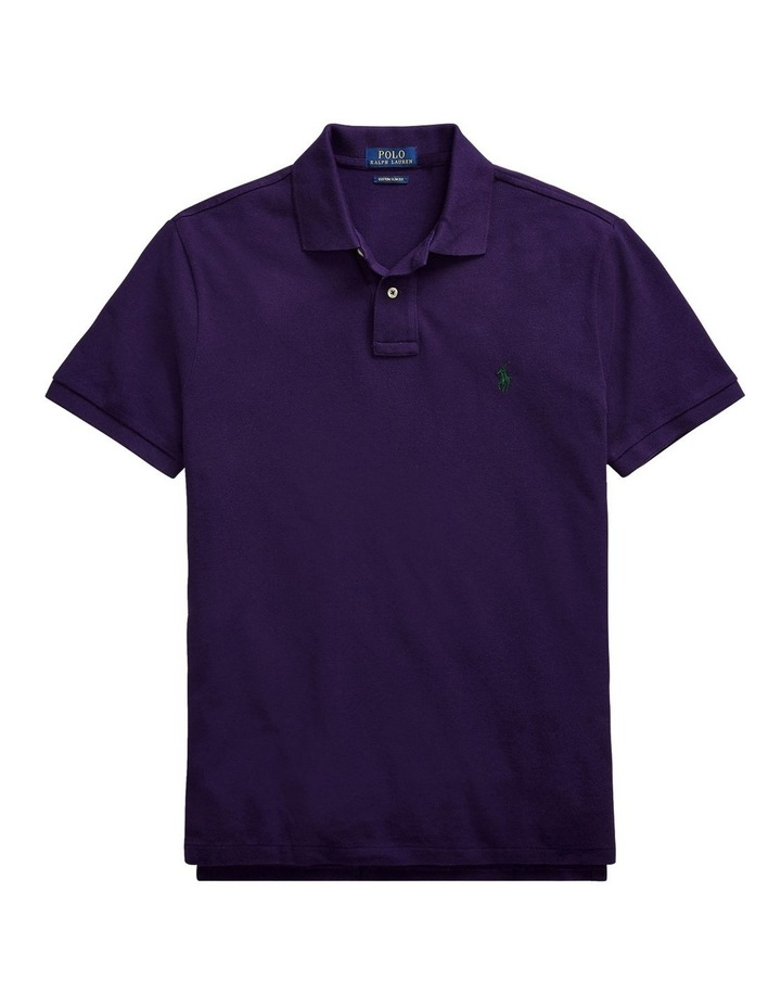 Classic Fit Mesh Polo Shirt image 4