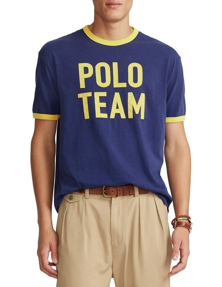 Classic Fit Polo Team Jersey T-Shirt image 1