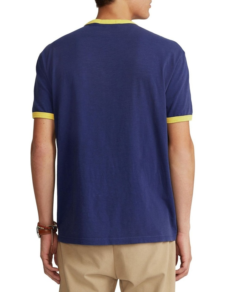 Classic Fit Polo Team Jersey T-Shirt image 2