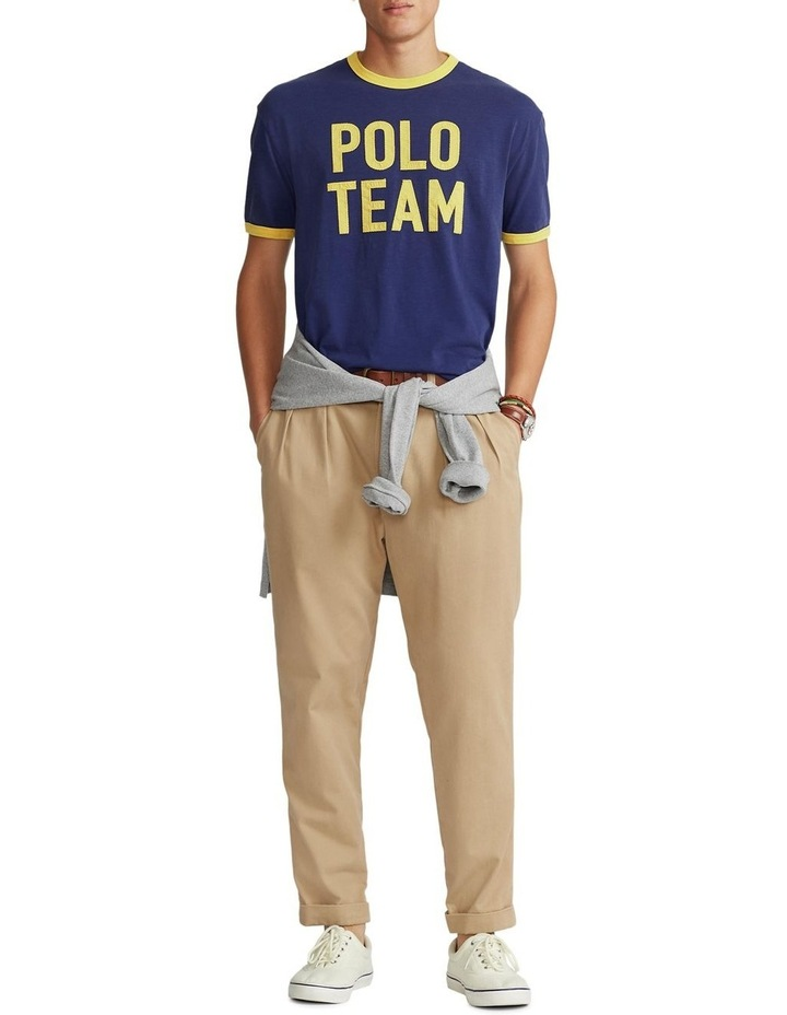 Classic Fit Polo Team Jersey T-Shirt image 3