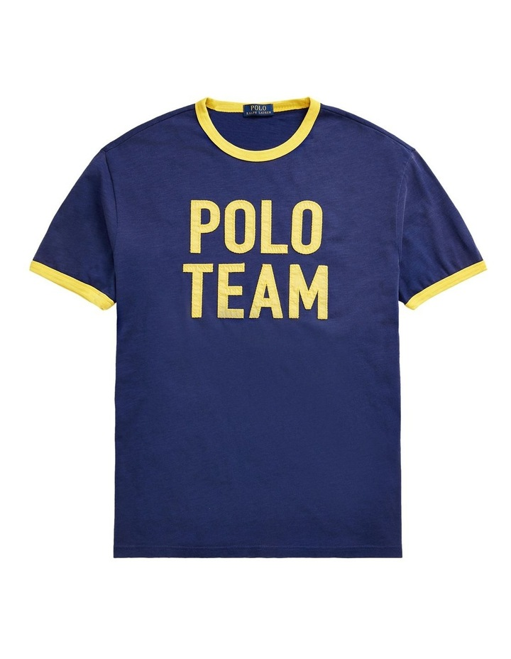Classic Fit Polo Team Jersey T-Shirt image 4