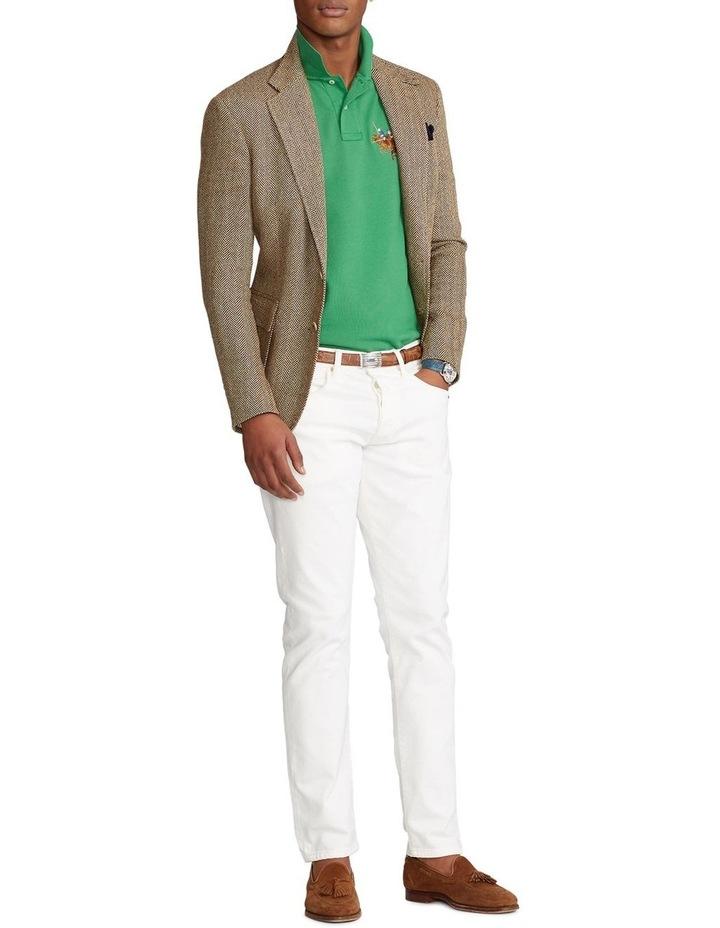 Custom Slim Fit Triple-Pony Polo Shirt image 3