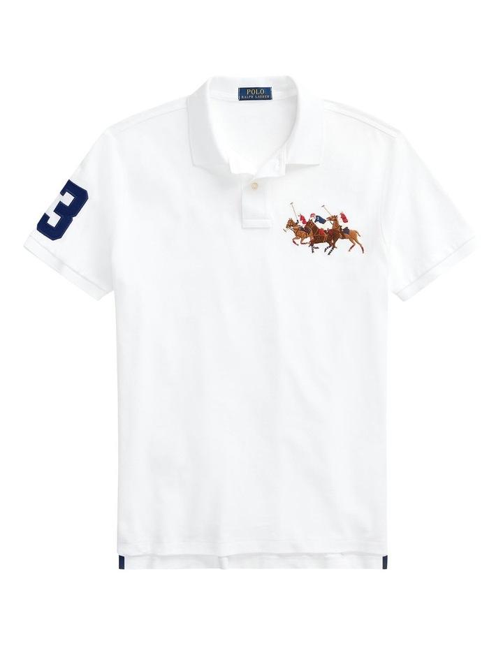 Custom Slim Fit Triple-Pony Polo Shirt image 4