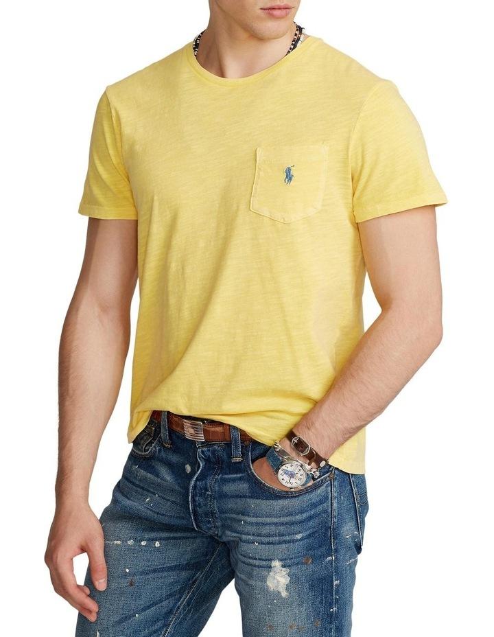Custom Slim Fit Jersey Pocket T-Shirt image 1