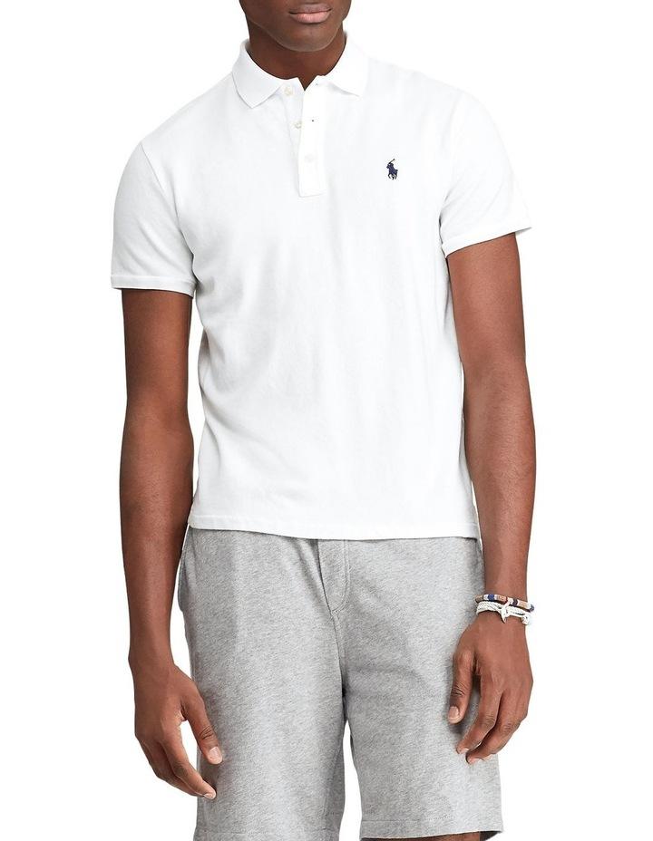 Custom Slim Fit Spa Terry Polo Shirt image 1