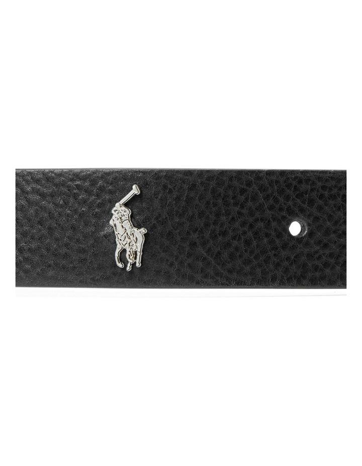 Tumbled Leather Belt image 2
