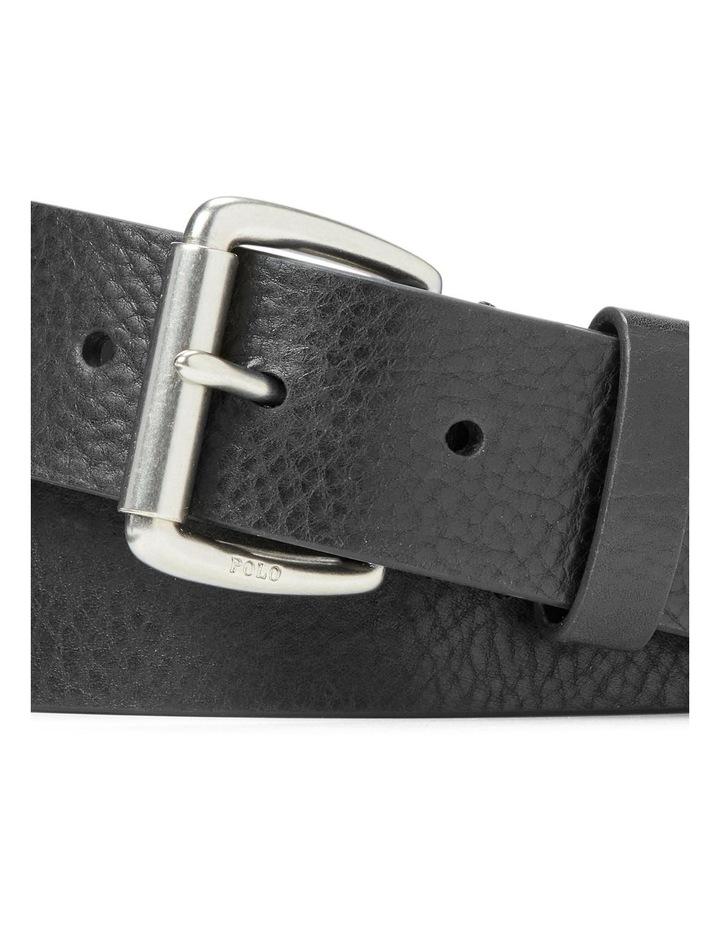 Tumbled Leather Belt image 3
