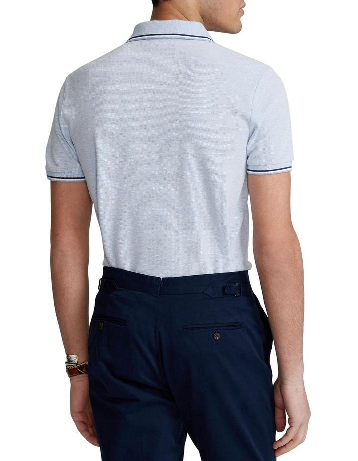 Custom Slim Stretch Birdseye Polo Shirt image 2