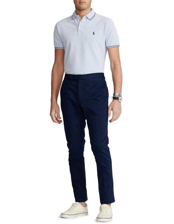 Custom Slim Stretch Birdseye Polo Shirt image 3