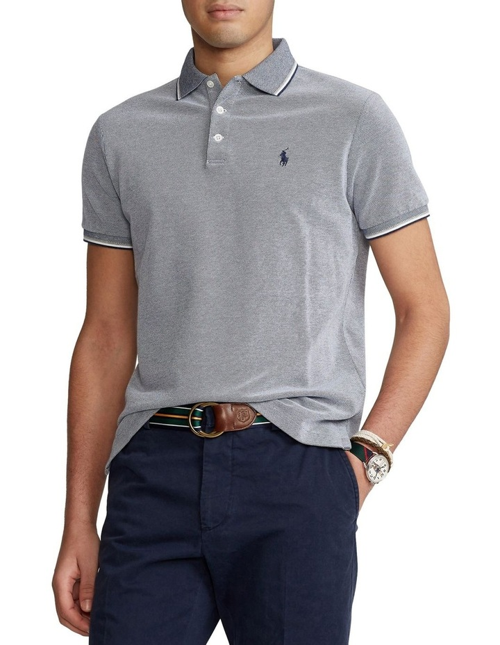 Custom Slim Stretch Birdseye Polo Shirt image 1