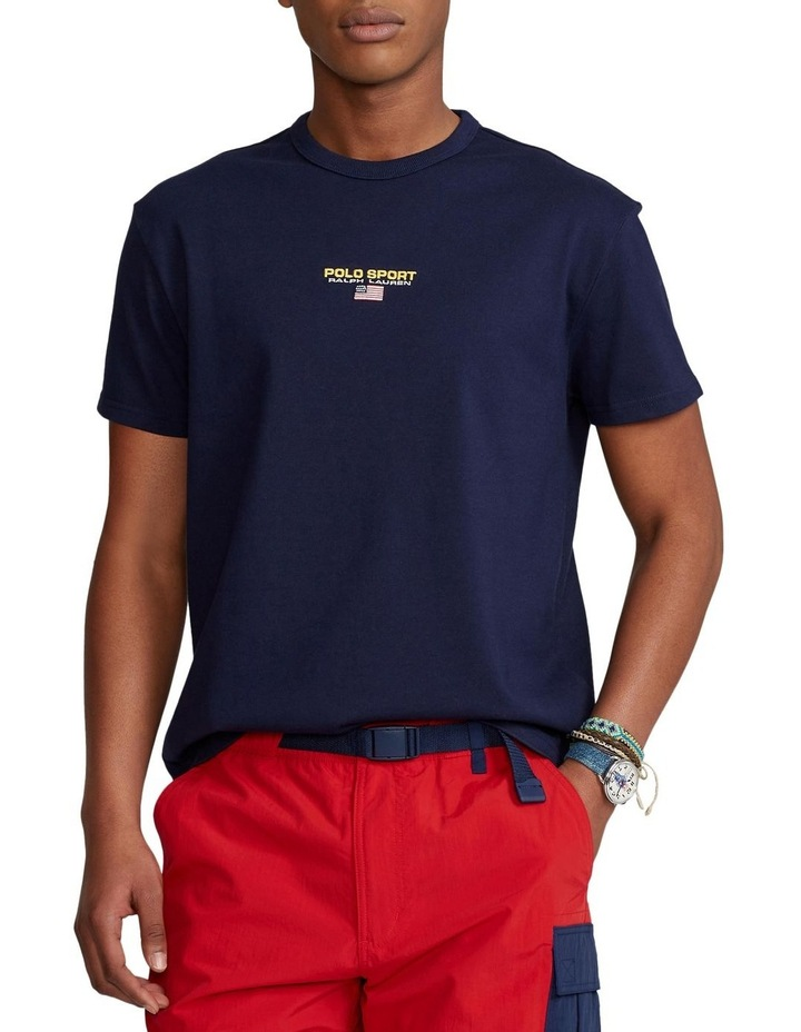 Classic Fit Polo Sport Jersey T-Shirt image 1