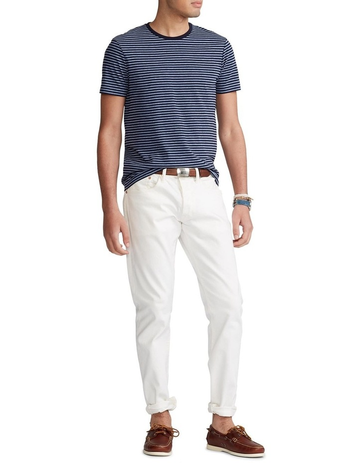Custom Slim Fit Striped Crewneck T-Shirt image 3