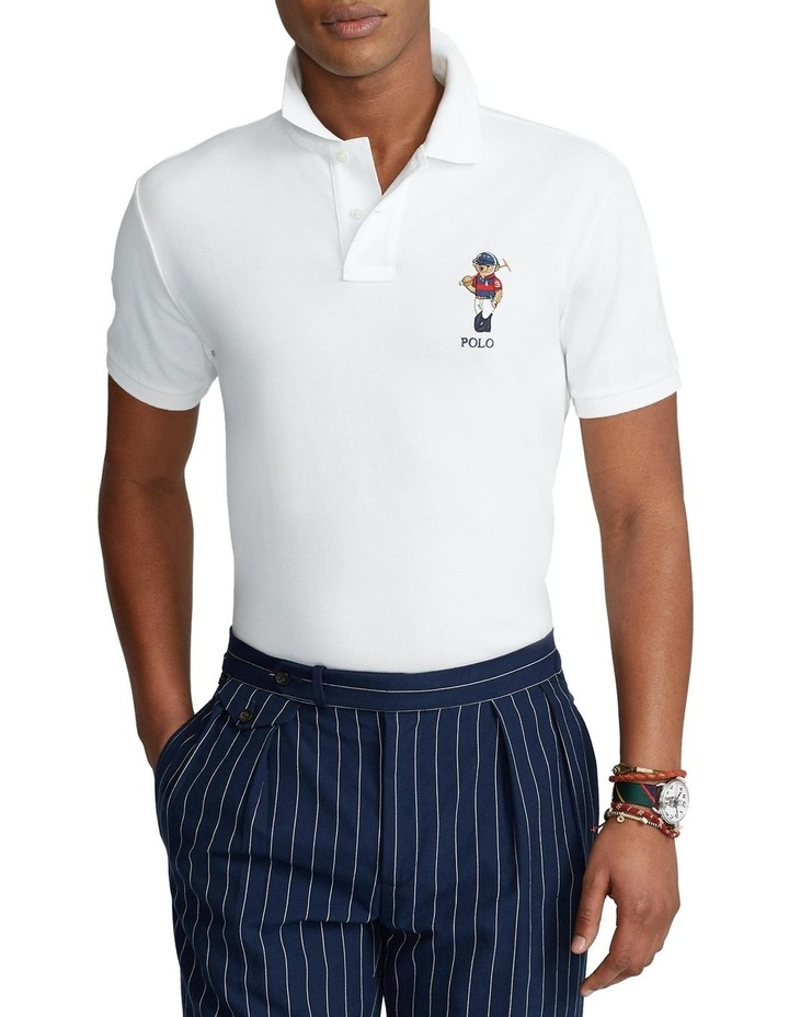 Custom Slim Fit Polo Bear Polo Shirt image 1
