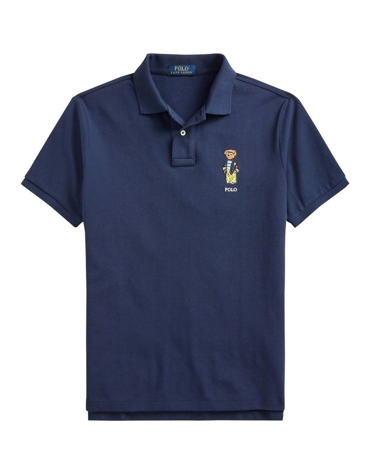 Custom Slim Fit Polo Bear Polo Shirt image 4