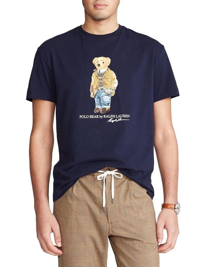 Custom Slim Fit Polo Bear T-Shirt image 1