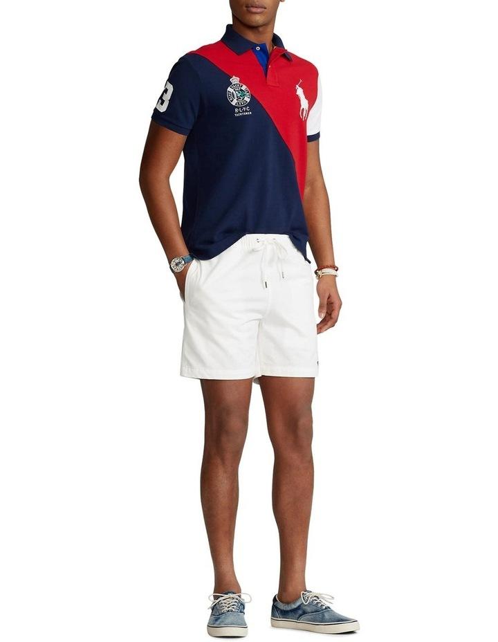 Custom Slim Fit Big Pony Mesh Polo Shirt image 3