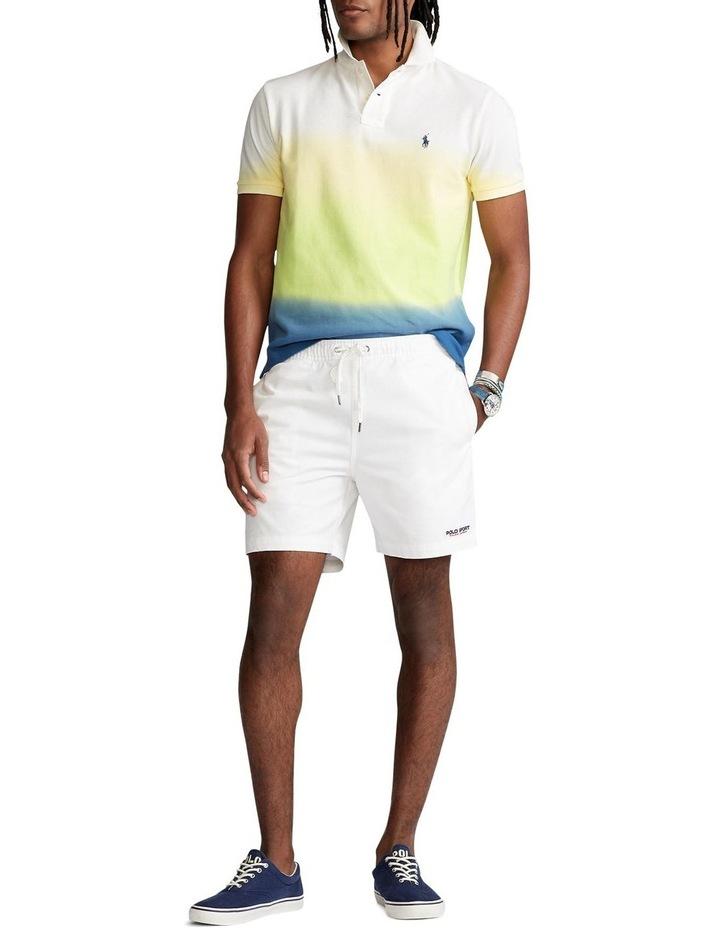 Custom Slim Fit Dip-Dyed Mesh Polo Shirt image 3