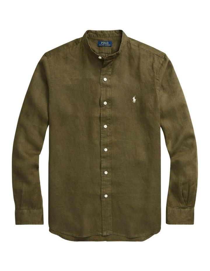 Classic Fit Linen Shirt image 4