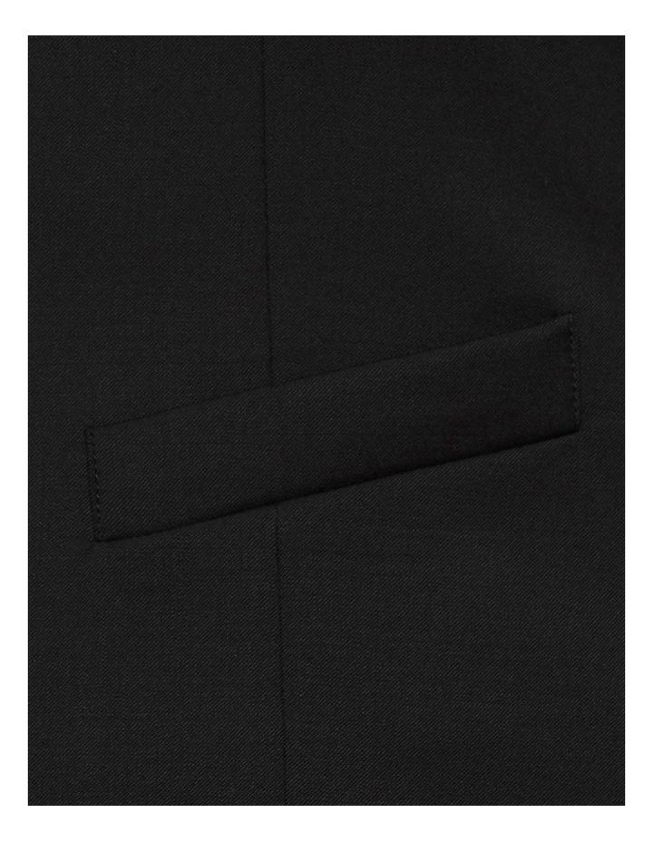 Slim Fit Black Mighty Vest F34087 image 4