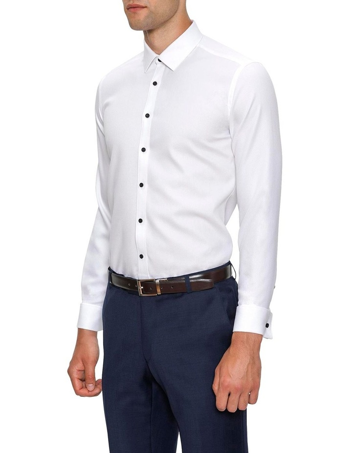 Slim Fit White Archie Shirt image 2