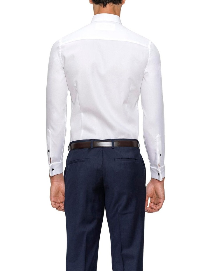 Slim Fit White Archie Shirt image 3