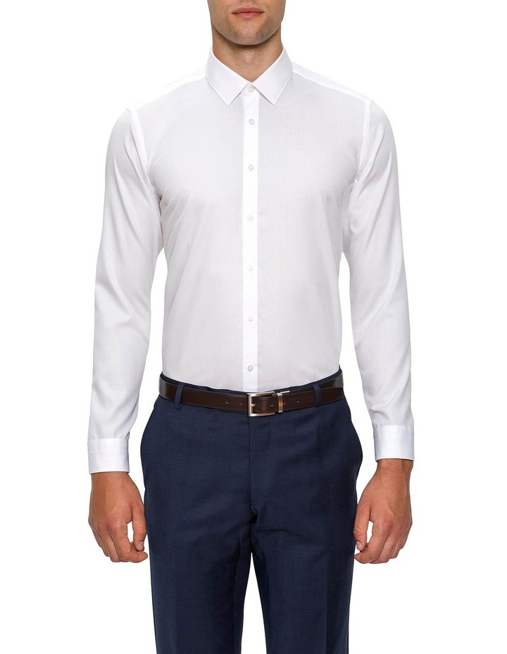 Slim Fit White Fierce Shirt FGW014 image 1
