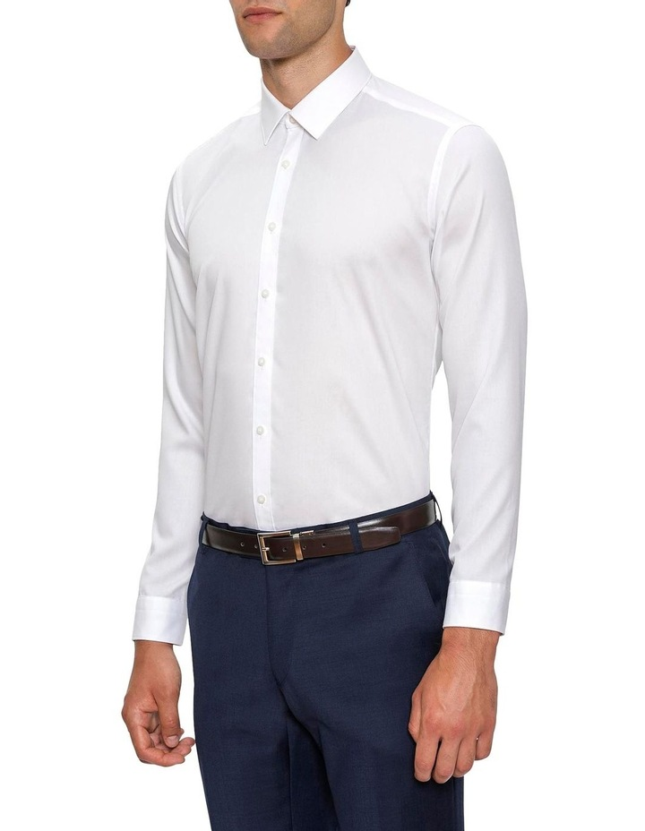 Slim Fit White Fierce Shirt FGW014 image 2