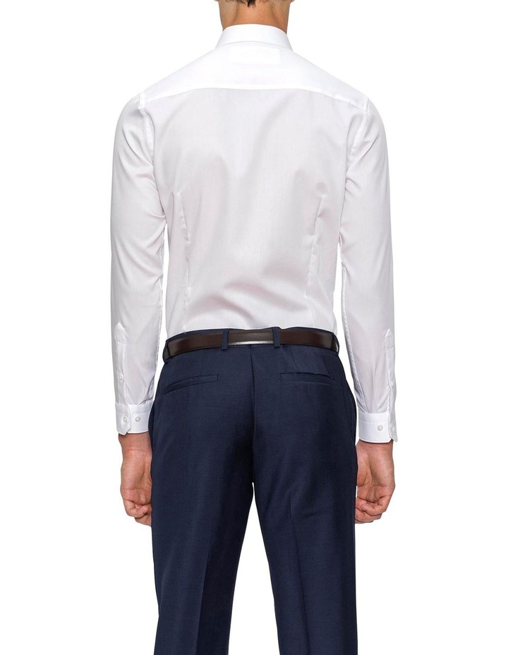 Slim Fit White Fierce Shirt FGW014 image 3