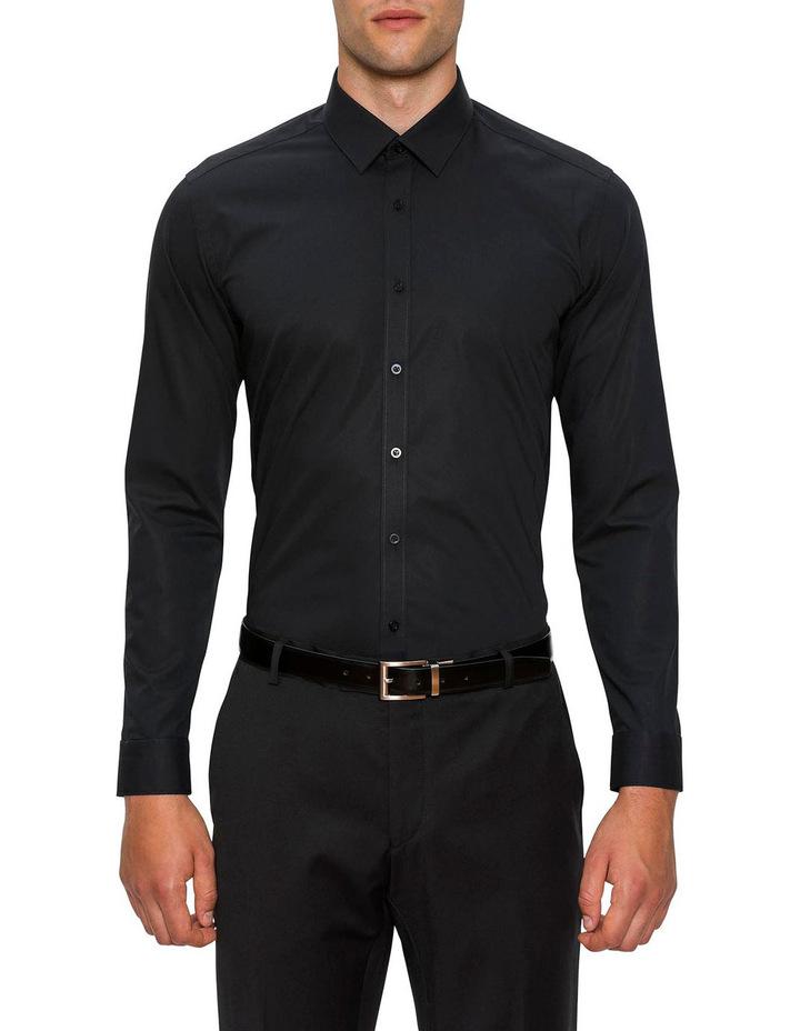 Slim Fit Black Fierce Shirt FGC054 image 1