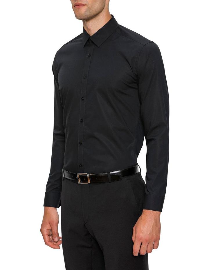 Slim Fit Black Fierce Shirt FGC054 image 2