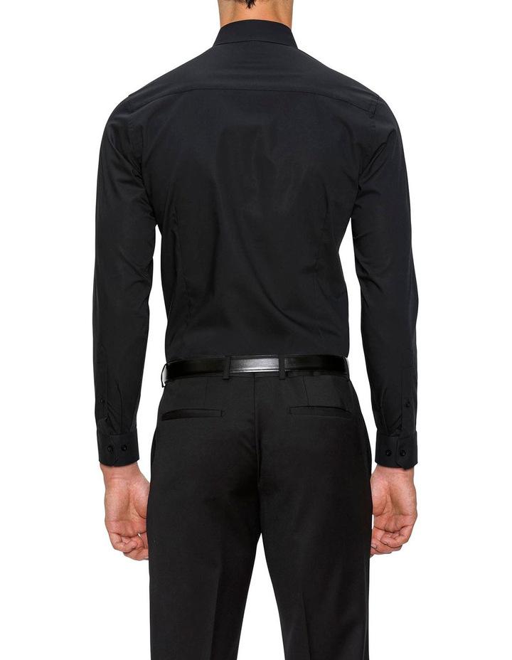Slim Fit Black Fierce Shirt FGC054 image 3