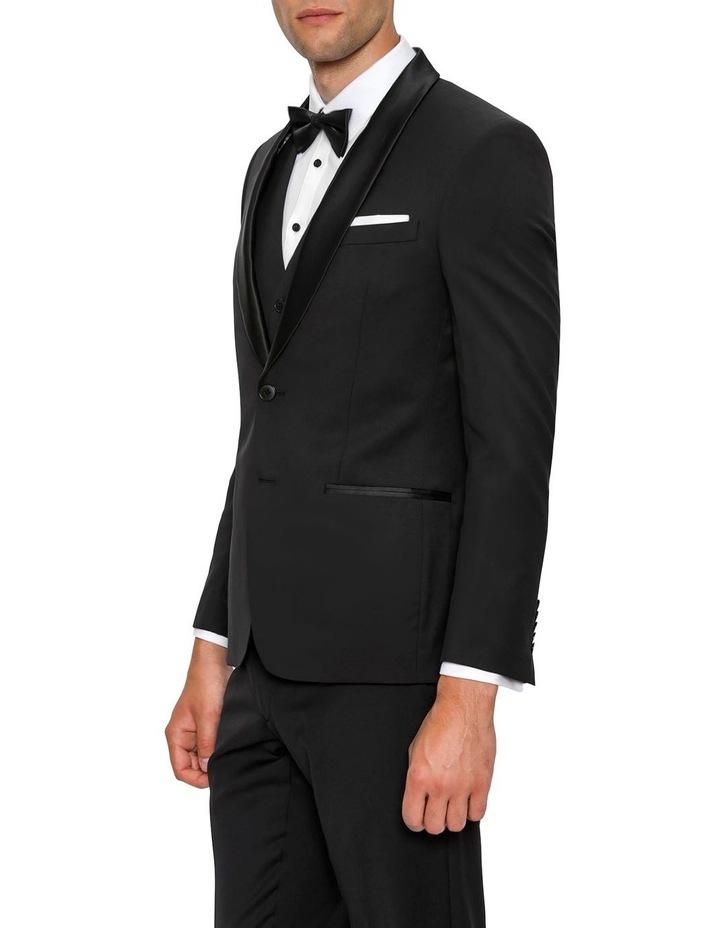 Slim Fit Black Spectre Dinner Jacket F34087 image 2