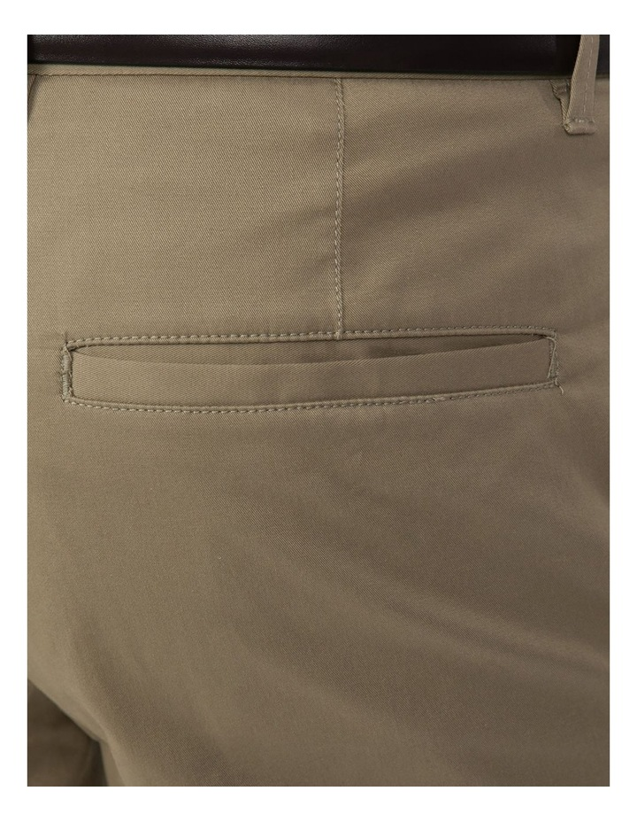 Slim Fit Justice Taupe Chino image 4