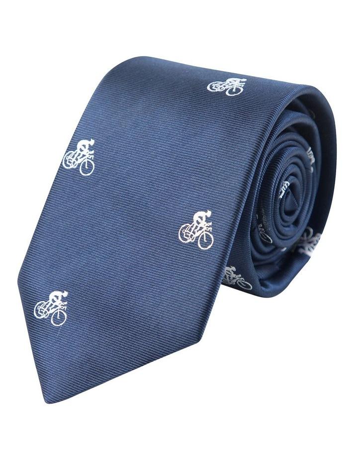 Cyclist Tie Navy image 1