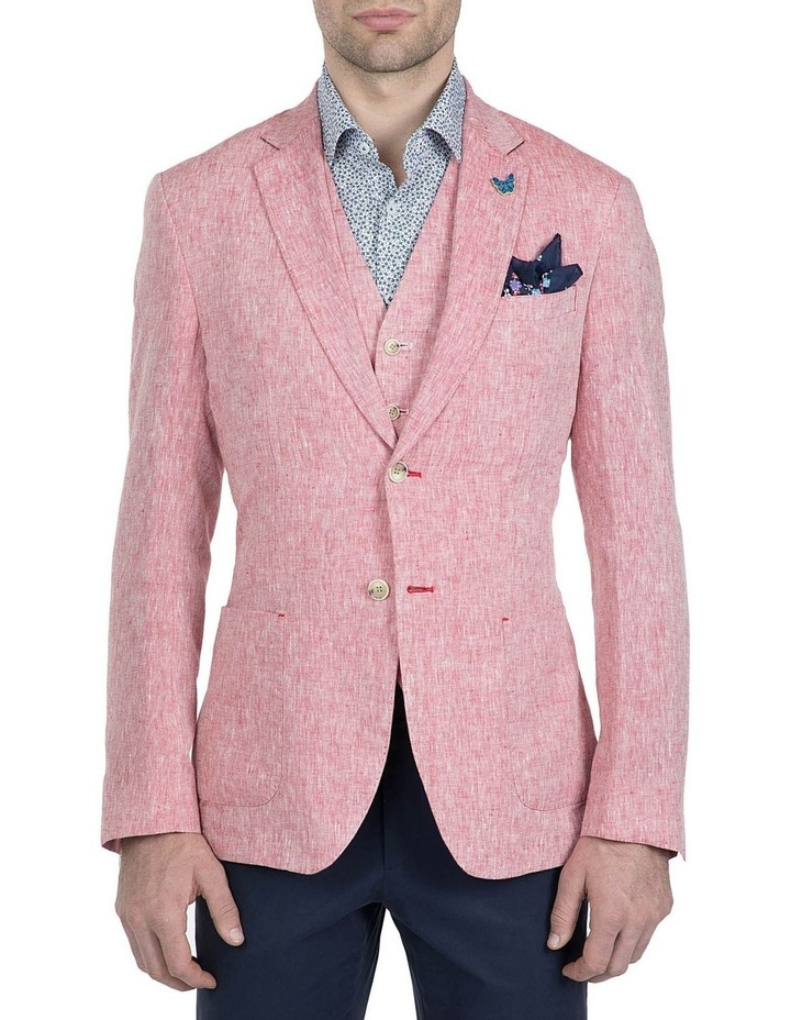 Slim Fit Red Electron Sport Jacket image 1