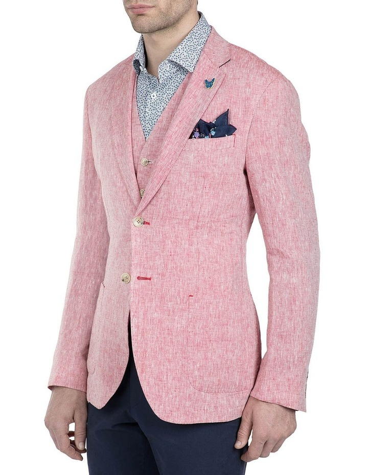 Slim Fit Red Electron Sport Jacket image 2