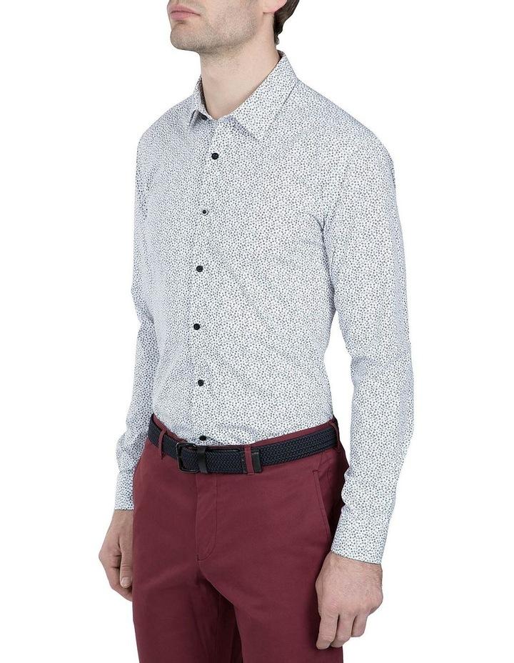 Black and White Print Cotton Flame Shirt image 2