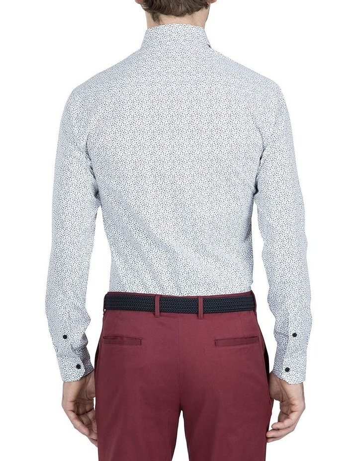 Black and White Print Cotton Flame Shirt image 3