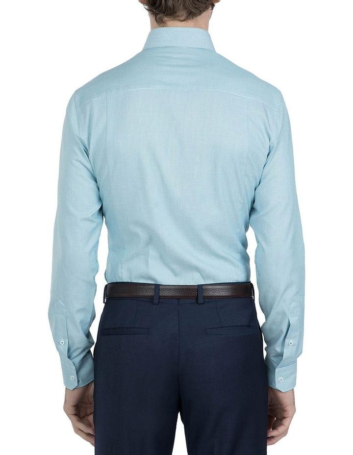 Slim Fit Teal Motion Shirt image 3