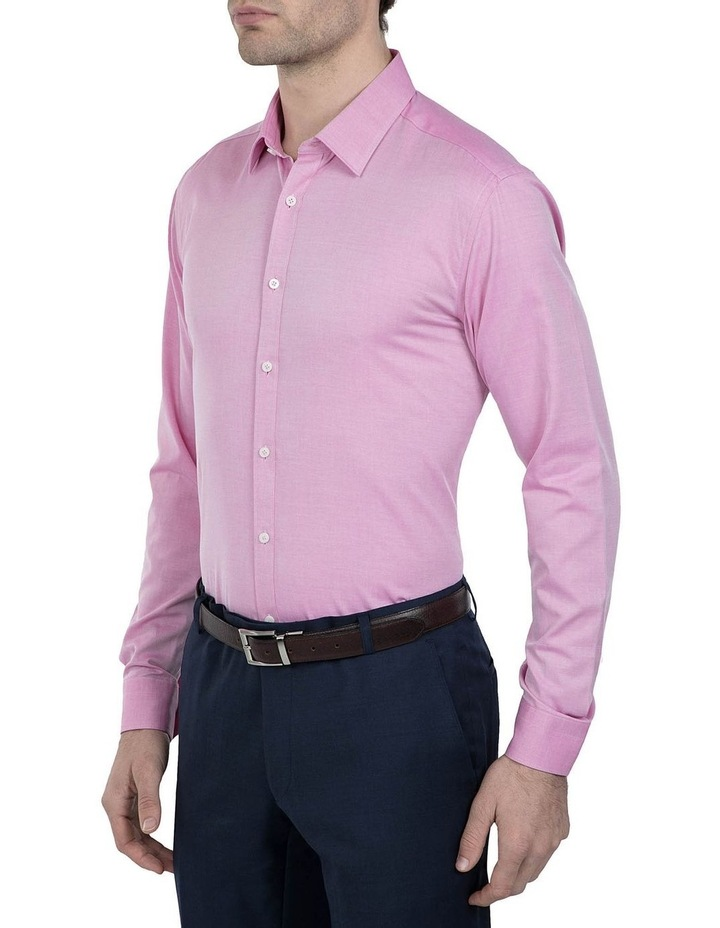 Slim Fit Pink Cotton Flame Shirt image 2