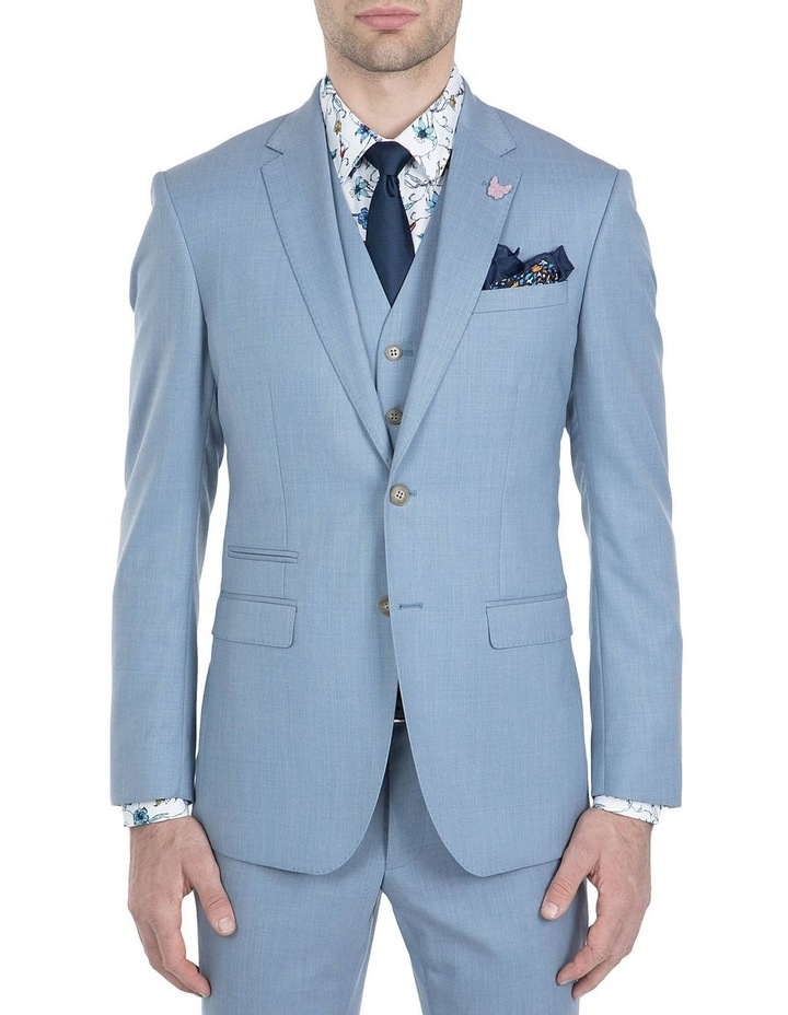 Slim Fit Light Blue Beta Jacket image 1