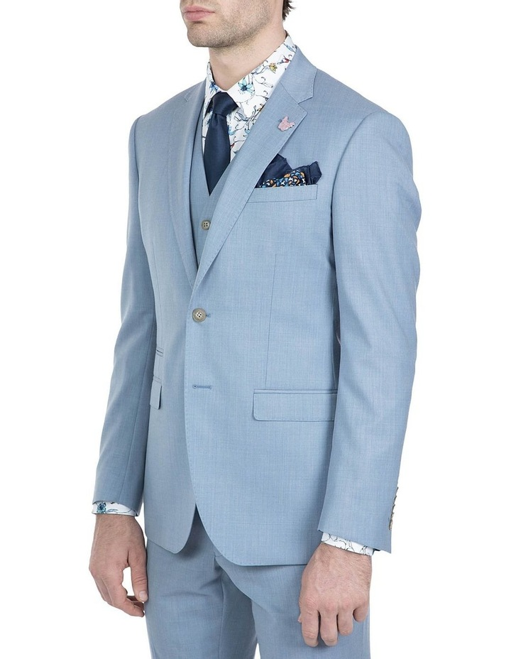 Slim Fit Light Blue Beta Jacket image 2