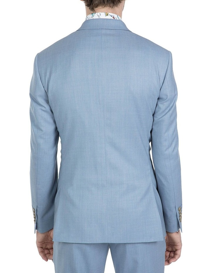 Slim Fit Light Blue Beta Jacket image 3