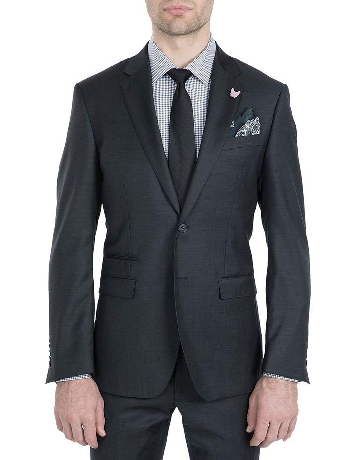 Slim Fit Charcoal Beta Jacket image 1
