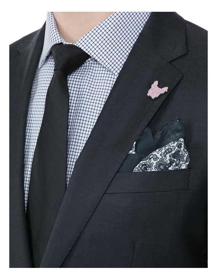 Slim Fit Charcoal Beta Jacket image 4