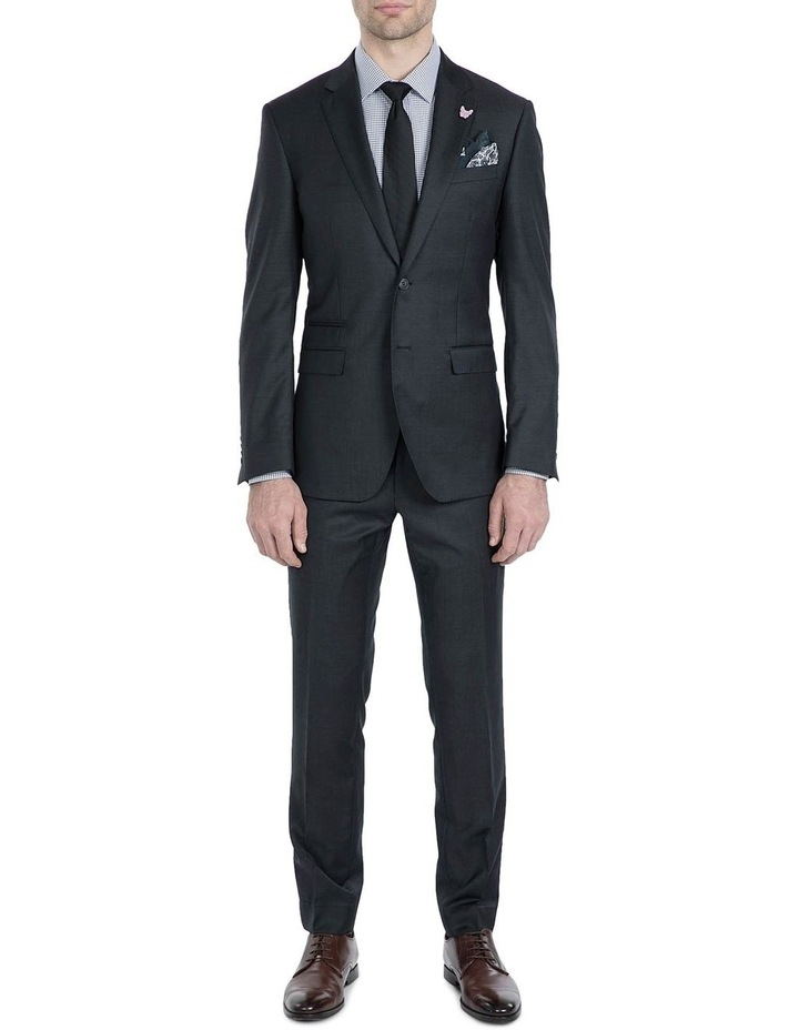 Slim Fit Charcoal Beta Jacket image 5