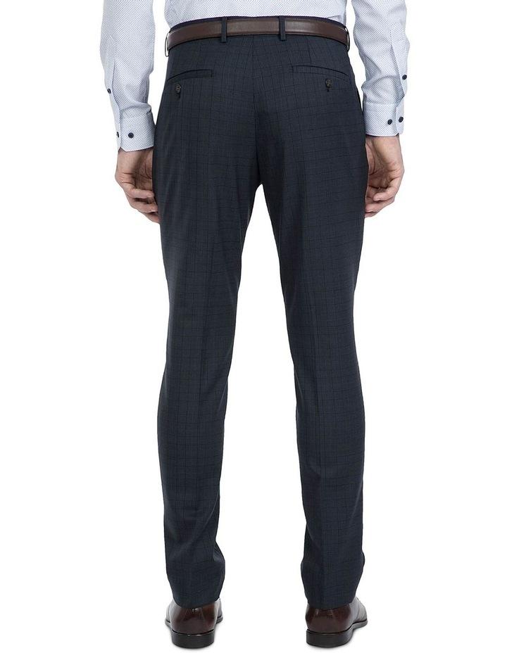 Slim Fit Navy Caper Trouser image 2