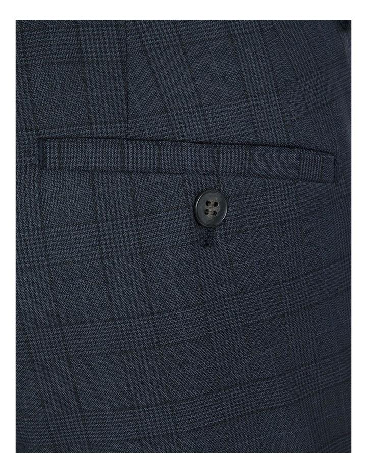 Slim Fit Navy Caper Trouser image 3