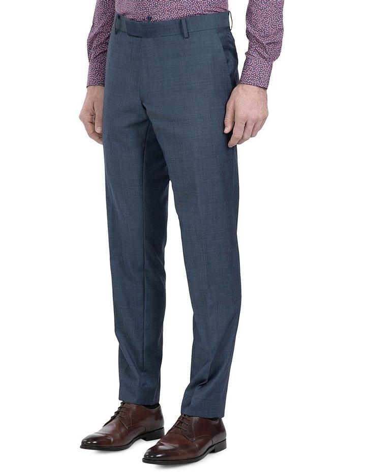 Slim Fit Blue Caper Trouser image 2