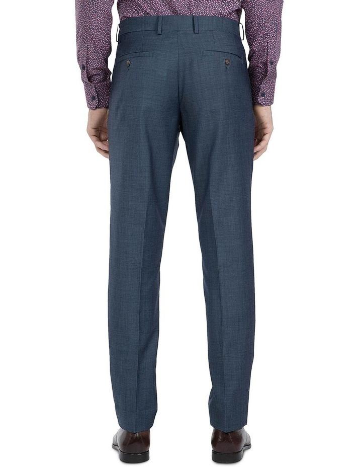 Slim Fit Blue Caper Trouser image 3